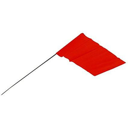 RED FLAG (tall) - Flag Stakes with 21-inch wire stem - SoManyRedFlags.com