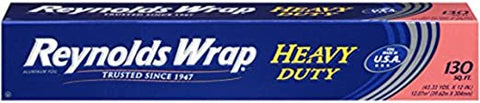 Emergency Toilet Paper - Reynolds Wrap Heavy Duty Aluminum Foil