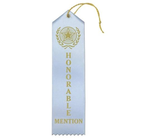 "Ribbon: ""HONORABLE MENTION"""