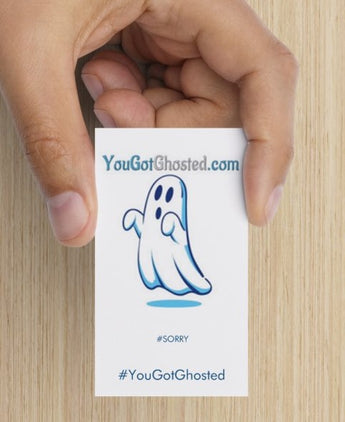 YouGotGhosted.com Cards