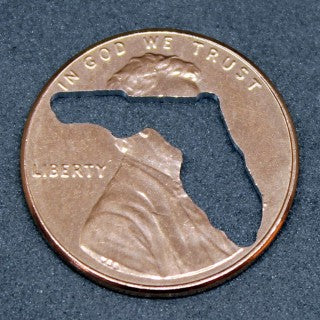 "FLORIDA Penny! (""Whatever Pennies"" from PennyWhatever.com)"
