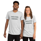 Hasa Diga Eebowai -- Super-Soft TRI-BLEND T-shirt (Bella&Canvas)