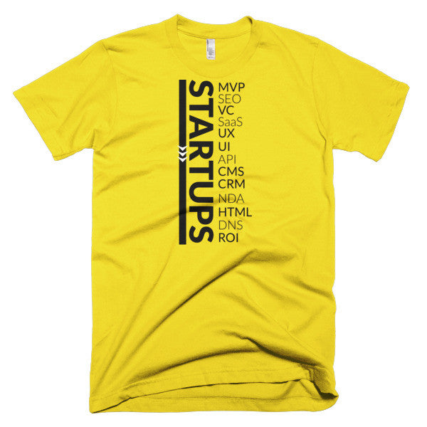 Living The Startup Dream (Startup Acronyms) T-Shirt