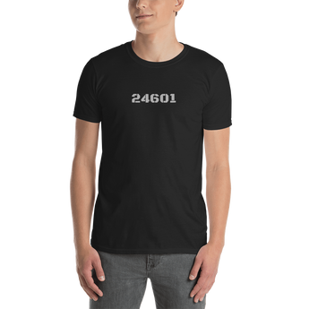 24601 (for Les Miserables fans) - Short-Sleeve Unisex T-Shirt