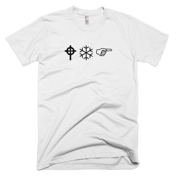 "WingDing ""WTF"" White T-Shirt"