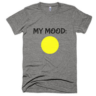 Fill In the Blank Shirts MY MOOD (Emoticon) Extra Soft (Tri-Blend)