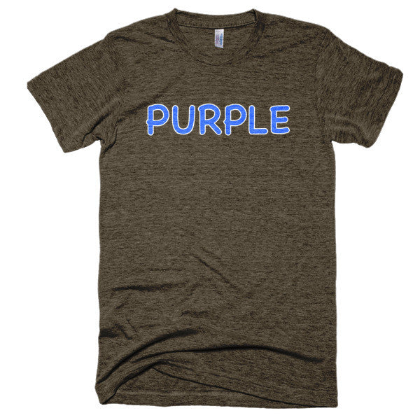 Wrong Color PURPLE?!? Extra Soft (Tri-Blend)