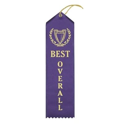 "Ribbon: ""BEST OVERALL"""