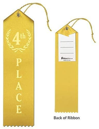 4th Place Ribbon