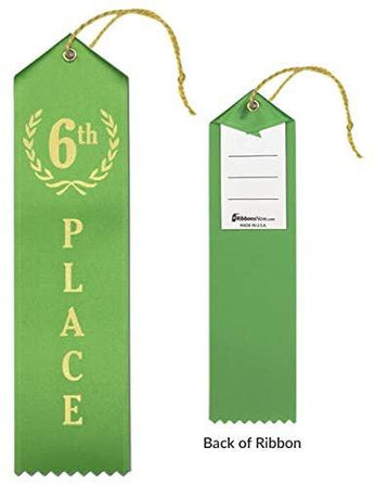6th Place Ribbon
