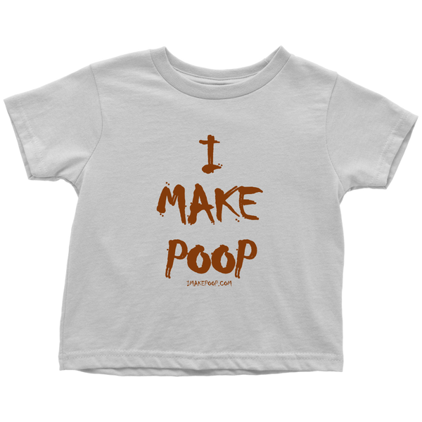 ImakePoop.com Toddler T-Shirt