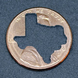 "TEXAS Penny! (""Whatever Pennies"" from PennyWhatever.com)"