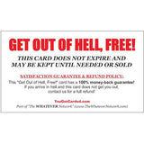 """Get Out Of Hell, Free"" Card!"