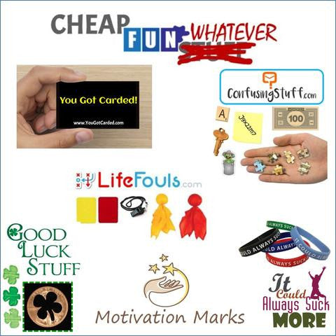 CheapFunWhatever.com products - starting at only a dollar from DollarWhatever.com