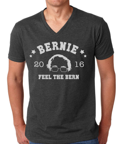 Feel The Burn Unisex V Neck T-shirt - 6240