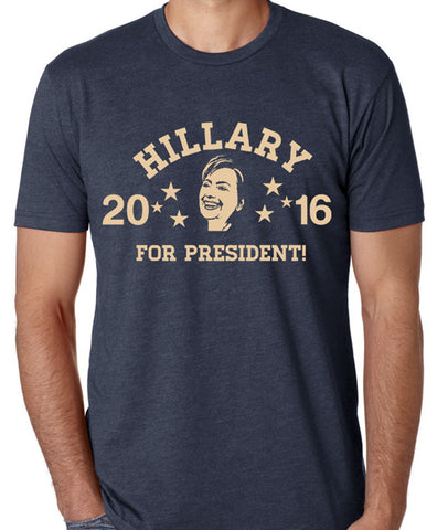 Hillary For President Fitted Super Soft Unisex Tee