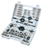 Imperial Tap and Die Set, 41pc with molded case
