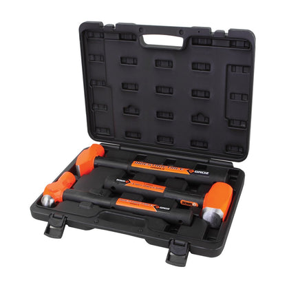 3-pc. Indestructible Handle Hammer Kit