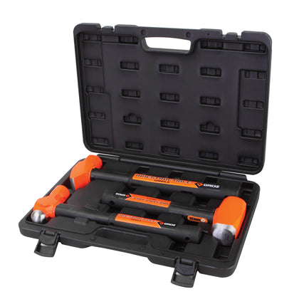 3-pc. Indestructible Handle Hammer Kit, 34576