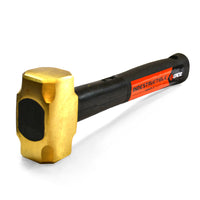 "12"" Indestructible Brass Striking Hammer, 2.5 lb."