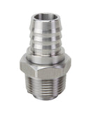 "Stainless Steel DEF Nozzle Swivel 3/4"" Inlet 3/4"" NPT Outlet"
