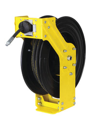 Dual Arm Grease Reel with SAE R2 Rubber Hose