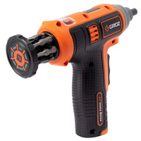 Cordless Screwdriver, 4V Insta Drive with 7 Bits, Retractable Cartridge & USB Charger