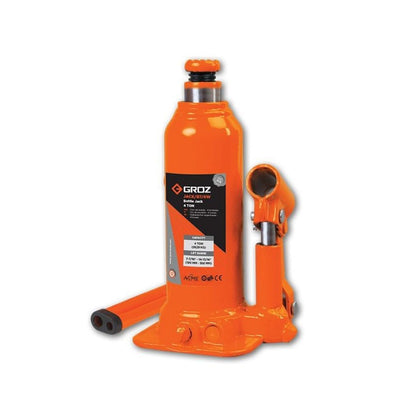 4 Ton Welding Type Bottle Jack with Load