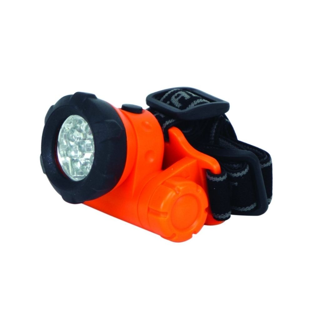Work light LED Head Light with 8 White & 1 Red LED