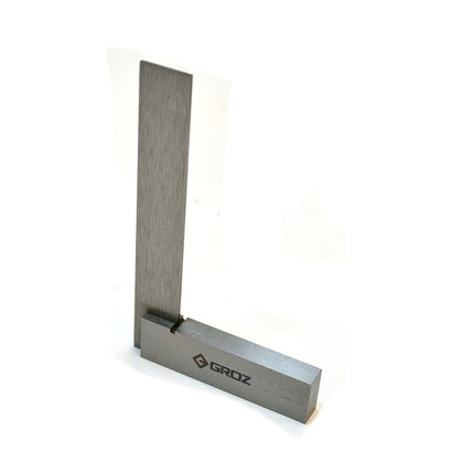 Machinist Square - 4-inch Steel, 48 Micron Squareness Precision