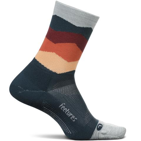 Elite Light Cushion Mini Crew Running Socks
