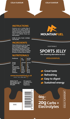 Mountain Fuel Sports Jelly