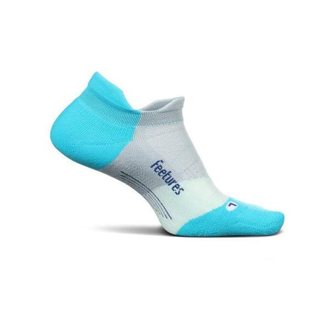 Elite Light Cushion No Show Tab Running Socks