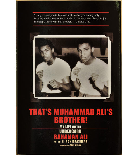 That's Muhammad Ali's Brother- Book