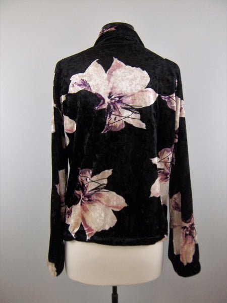 Dreaming Of Roses Bomber Jacket - Mix & Mingle Boutique