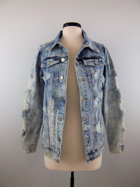 Look Back On These Days Denim Jacket - Mix & Mingle Boutique