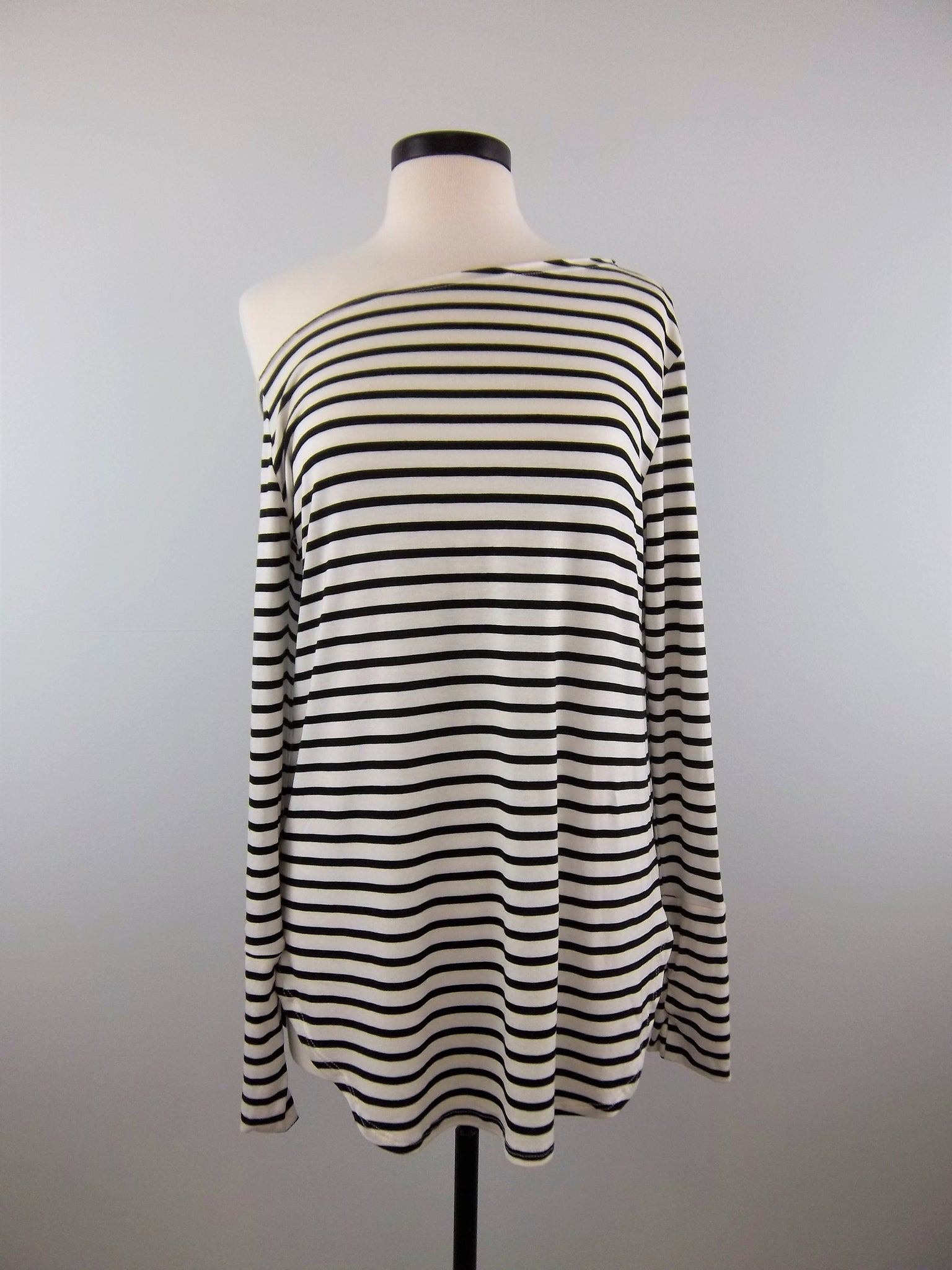 Don't Be Jealous Thumbhole Stripe Top