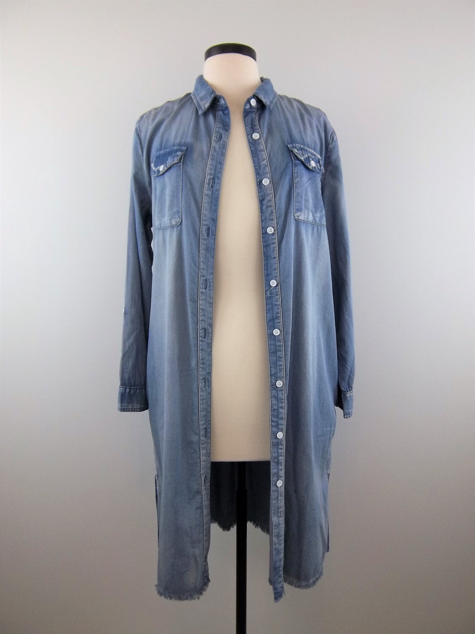 Kiss Me Sweet Denim Kimono - Mix & Mingle Boutique