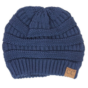 CC Beanie Navy - Mix & Mingle Boutique