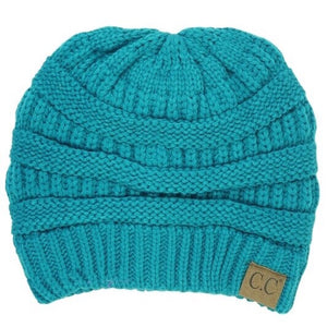 CC Beanie Teal - Mix & Mingle Boutique