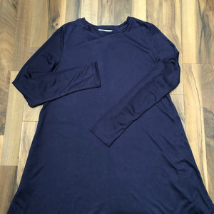 Navy Long-sleeve Top - Mix & Mingle Boutique