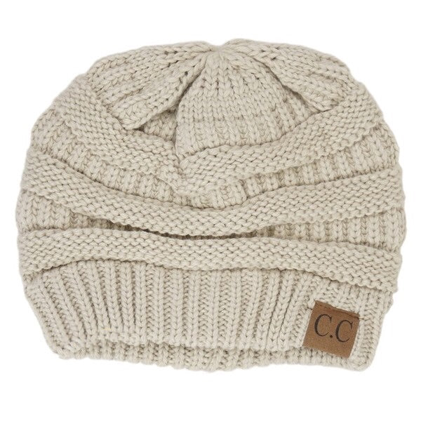 CC Beanie Beige - Mix & Mingle Boutique