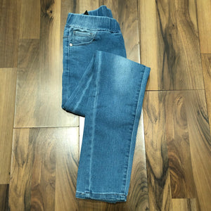 Turn it up denim jeggings - Mix & Mingle Boutique