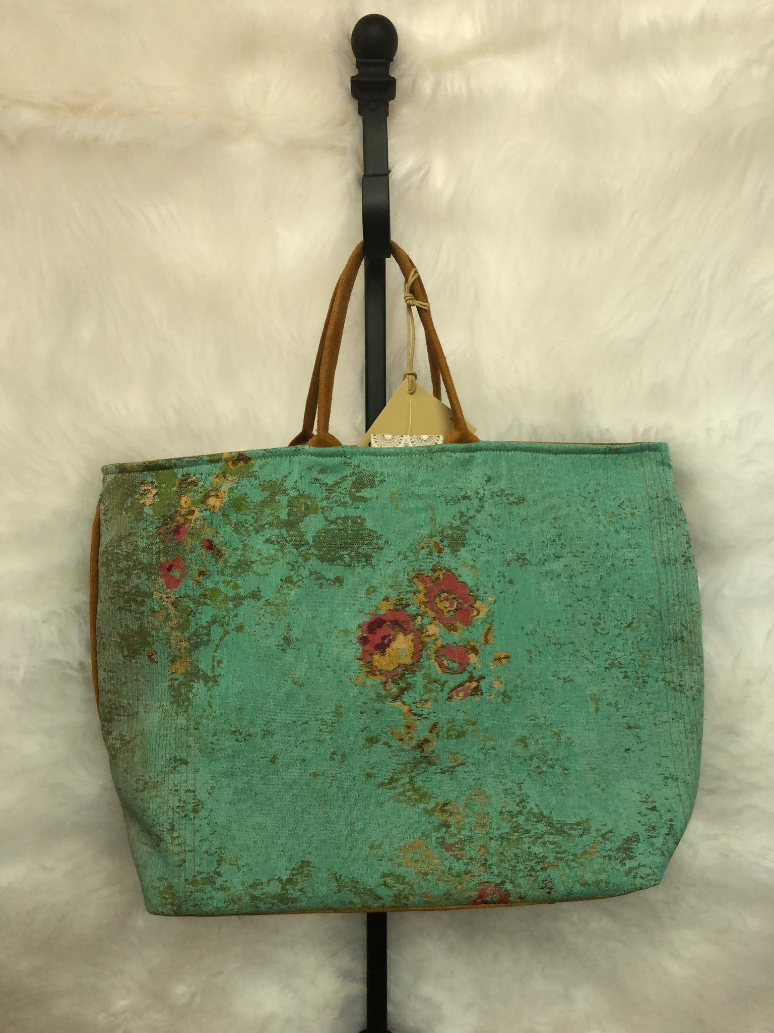 Dolly Orly Teal Handbag