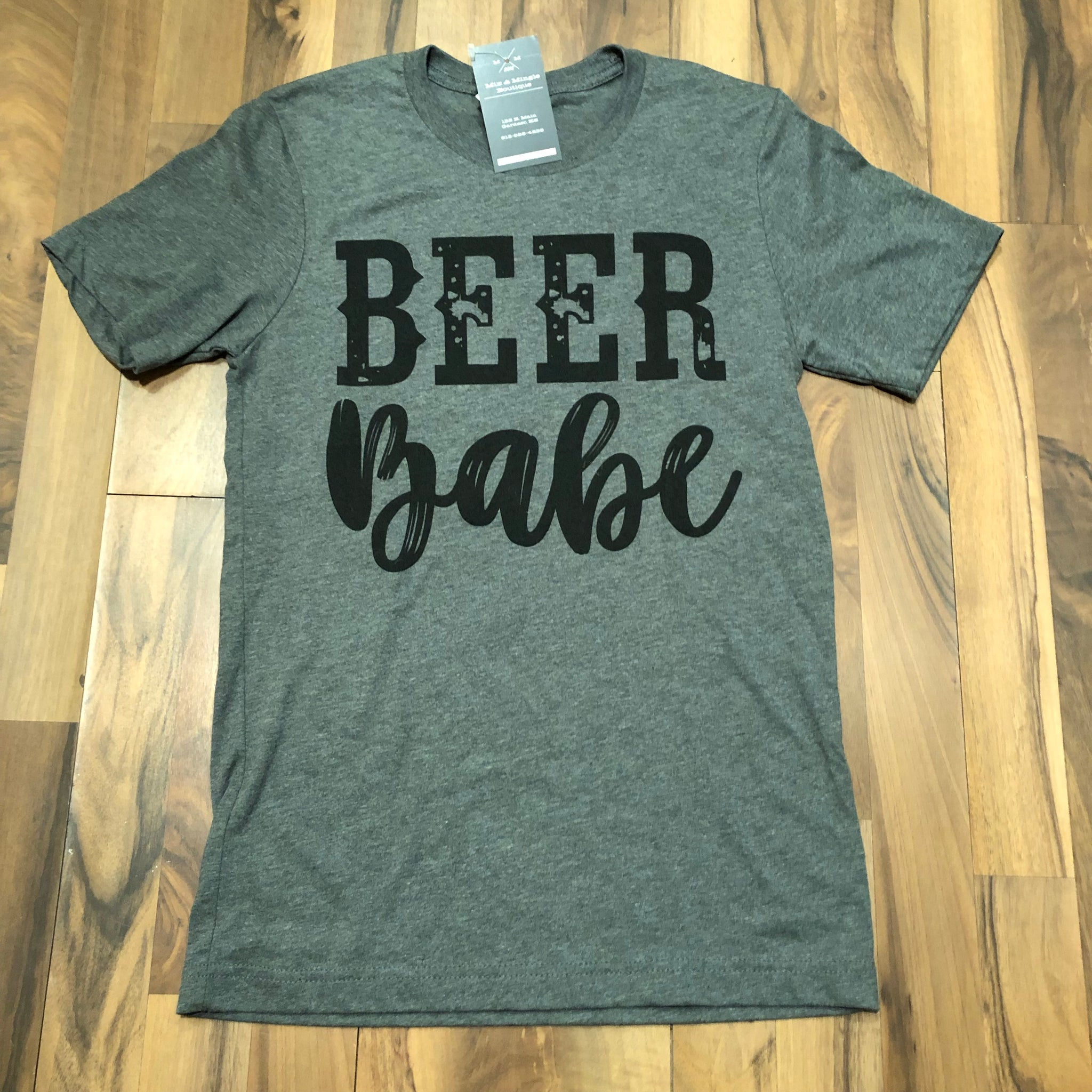 Beer Babe Tee - Mix & Mingle Boutique
