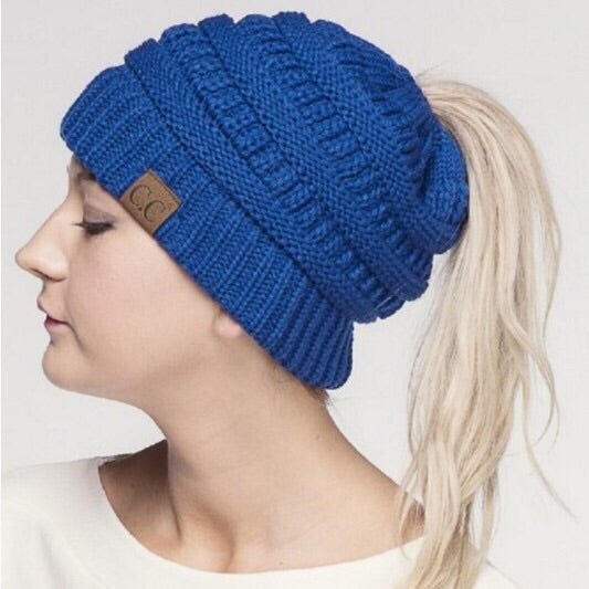 CC Ponytail Beanie - Mix & Mingle Boutique