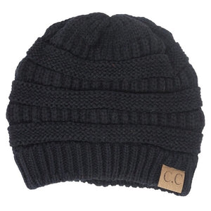 CC Beanie Black - Mix & Mingle Boutique