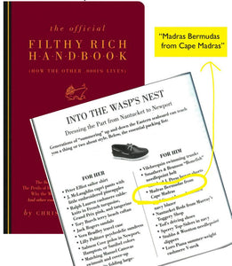 Cape Madras featured in the Filthy Rich Handbook!