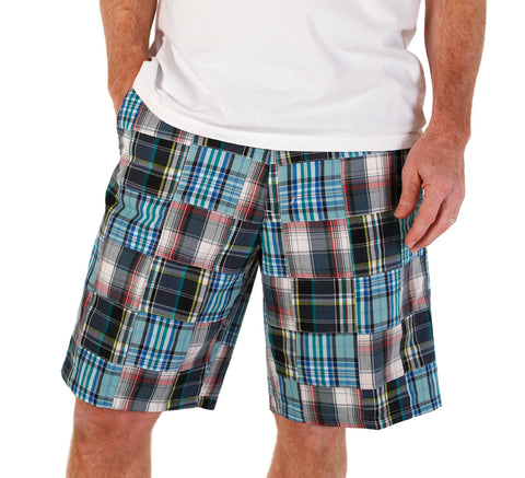 Men's Madras Bermuda Shorts - Berkshire