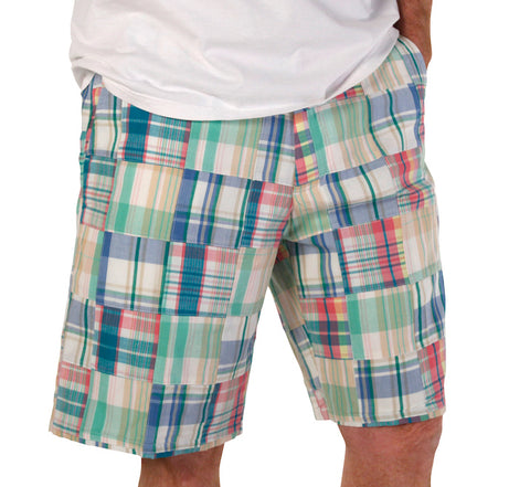 Men's Madras Bermuda Shorts